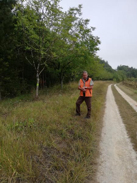 CR 63 , chemin très agréable à pied, à cheval, à vélo