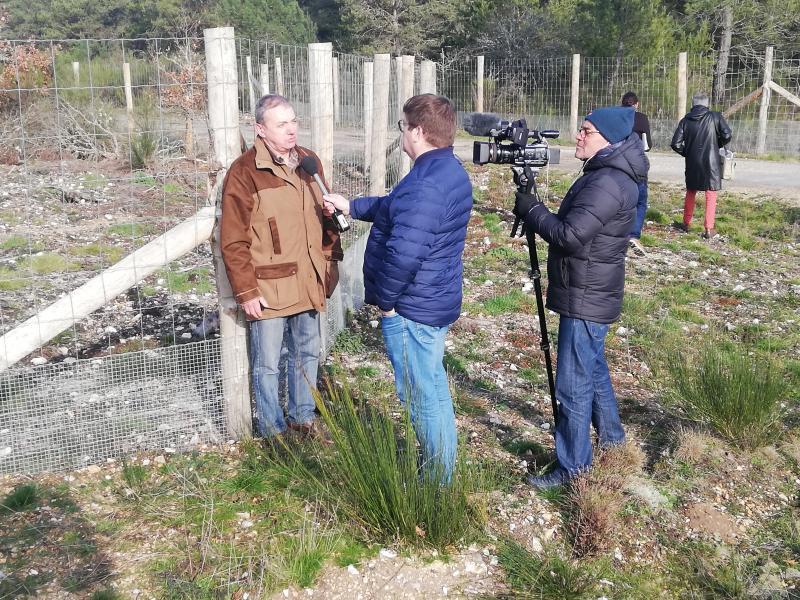 Interview de Raymond Louis par France 3