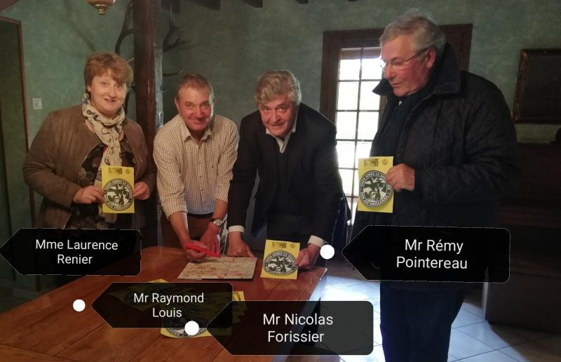 Mme Renier, Mrs Louis, FORISSIER et Pointereau