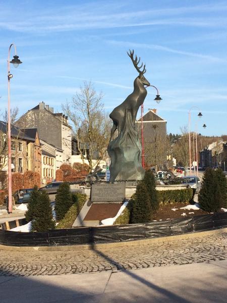 Centre de la ville de Saint Hubert