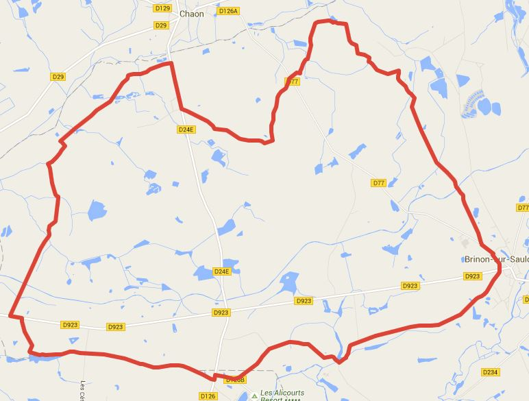 Un circuit de 30 km