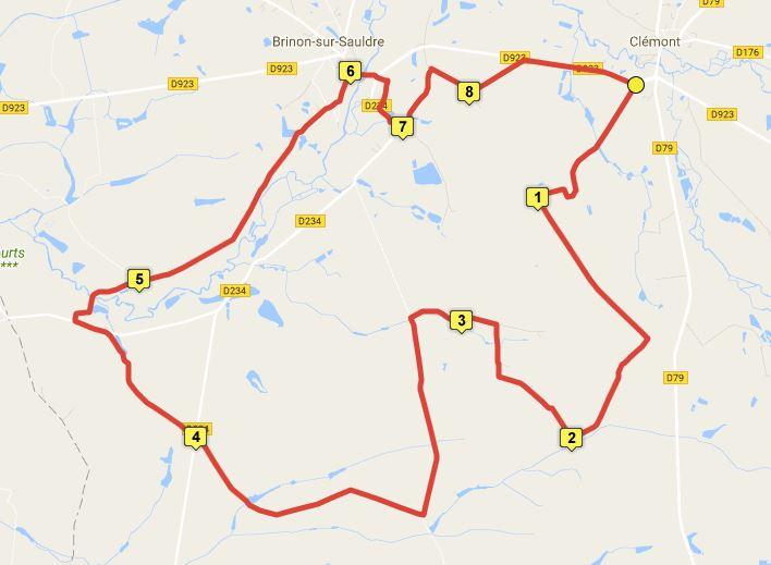 Un circuit de 26 km