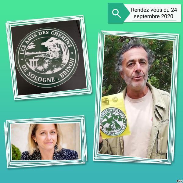 Rendez-vous du 24/09/20,  de Nicolas Vanier avec Mme Pompili