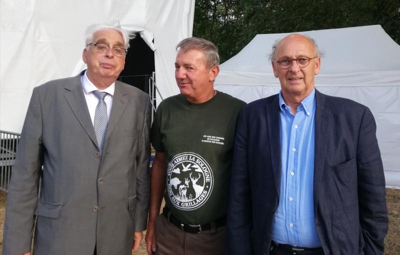 le sénateur JP SUEUR et le député C de GANAY